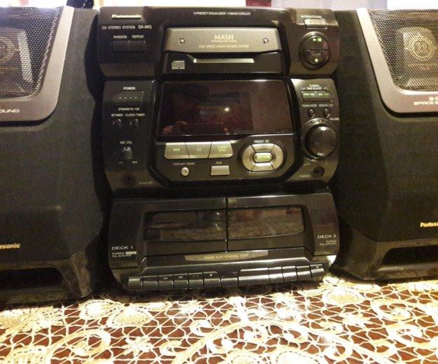Panasonic cd stereo system sa-ak5. Фото 1. Буйнакск.