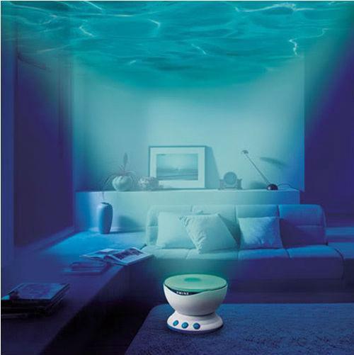 Акустический проектор волн океана голубая лагуна. Фото 1. Москва.