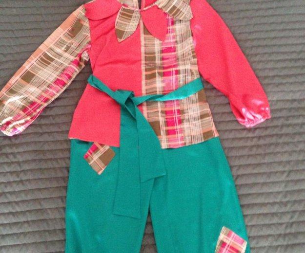 Детский новогодний костюм пётрушки. Фото 1. Новосибирск.