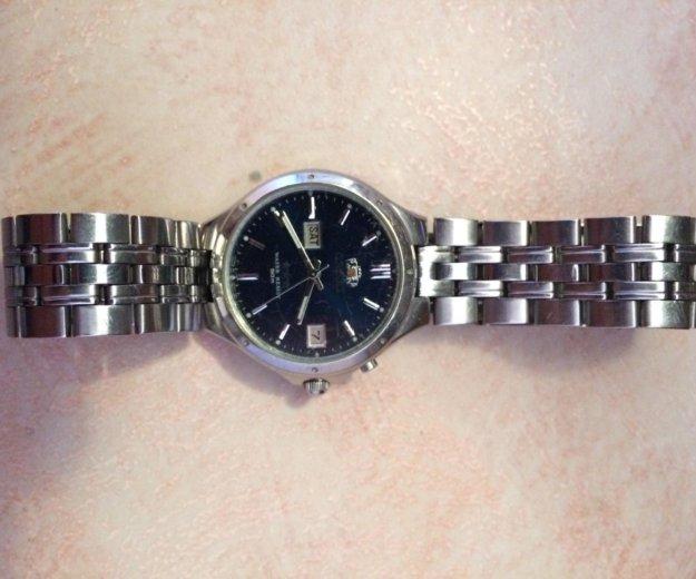Мужские наручные часы с автоподзаводом orient. Фото 1. Новороссийск.