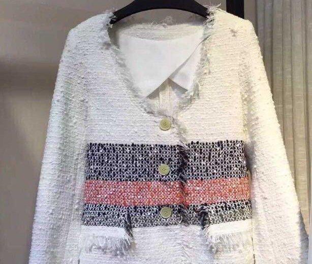 Новый шикарный пиджак chanel. Фото 2. Москва.