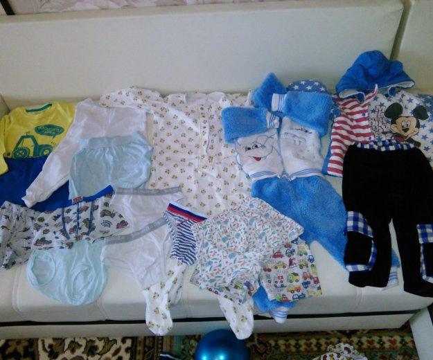 Пакет детских вещей на 1-2 года. Фото 1. Краснодар.
