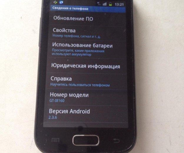 Samsung galaxy ace2. Фото 1. Красноярск.