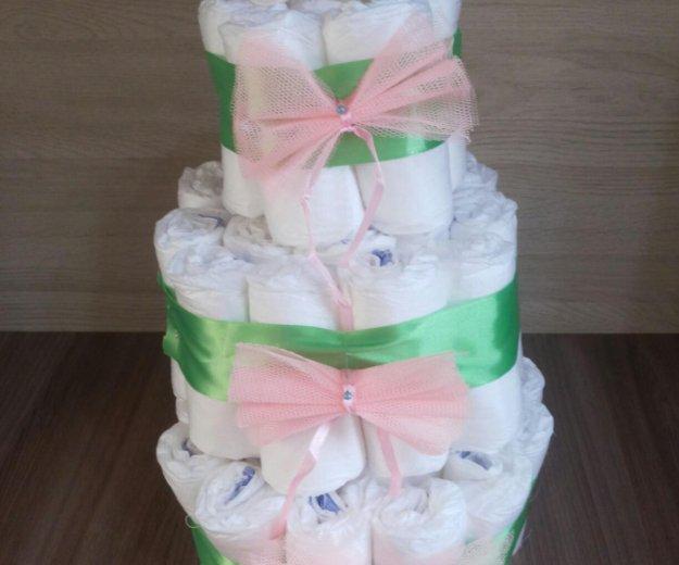 Торт из памперсов. Фото 2. Екатеринбург.