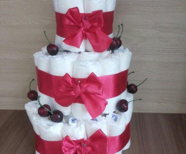 Торт из памперсов. Фото 4. Екатеринбург.