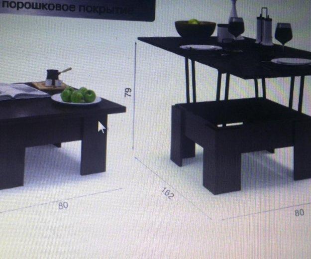 Новый стол-трансформер+подарок. Фото 1.
