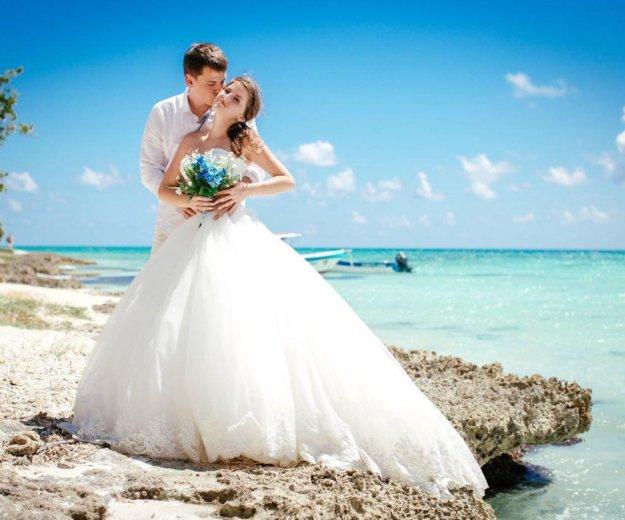 Красивое пышное свадебное платье. Фото 2. Краснодар.