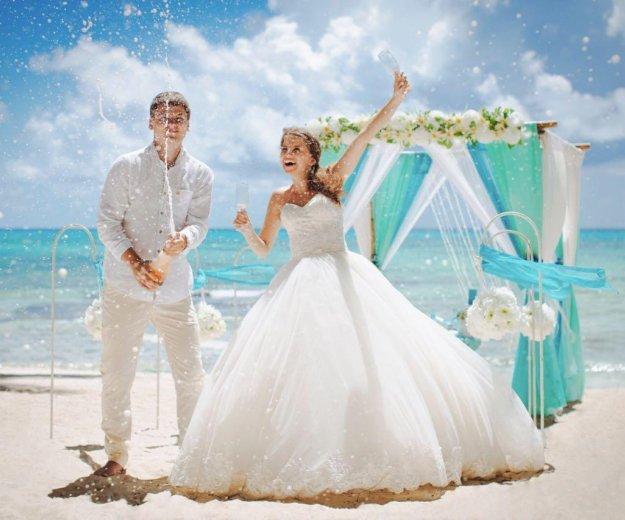Красивое пышное свадебное платье. Фото 4. Краснодар.