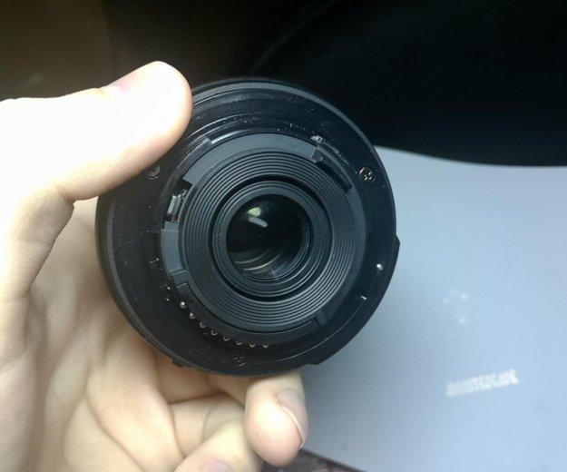 Объектив nikon af-s nikkor 18-55 mm 1:3,5-5,6 g ii. Фото 2. Москва.