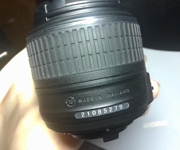 Объектив nikon af-s nikkor 18-55 mm 1:3,5-5,6 g ii. Фото 3. Москва.