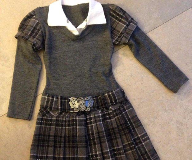 Красивое платье на рост 110-116. Фото 1.