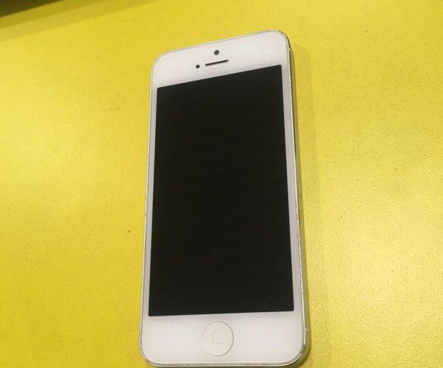 Apple iphone 5 32 gb white. Фото 2. Кушва.