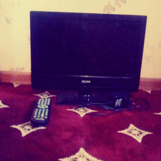 Телевизор izumi ( новый ). Фото 1. Сургут.