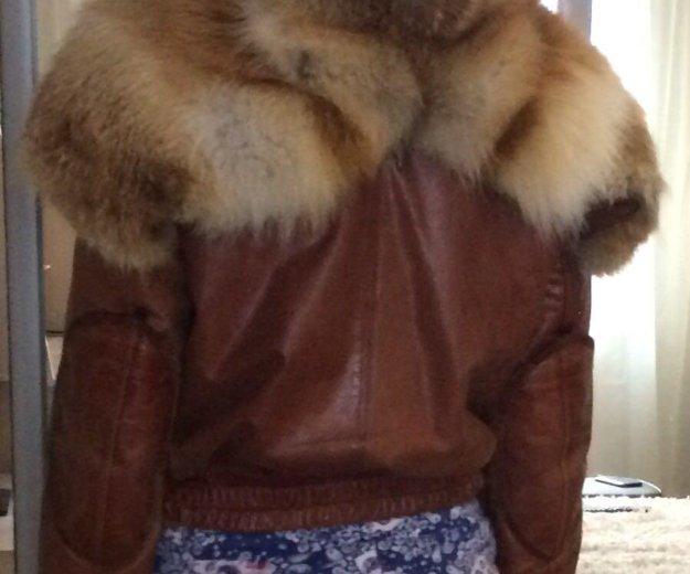 Куртка кожаная. Фото 1. Самара.