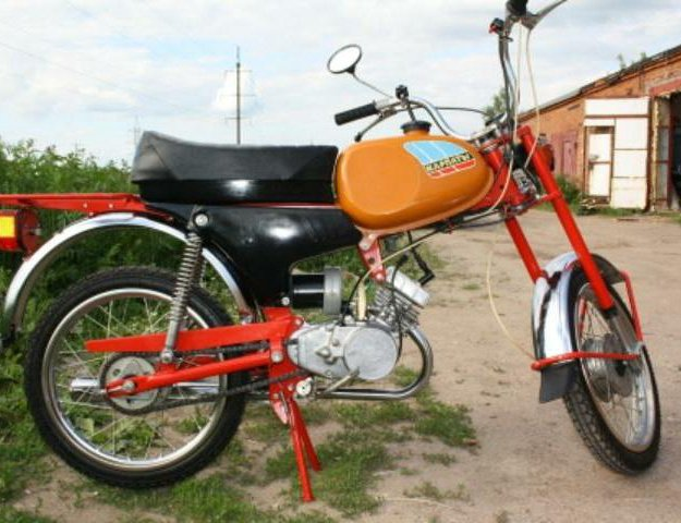 Мопед скутер газулька мотоцикл. Фото 1. Нижний Новгород.