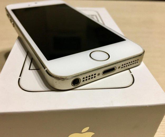 Iphone 5s/ 16gb / gold отличное состояние. Фото 3. Иркутск.