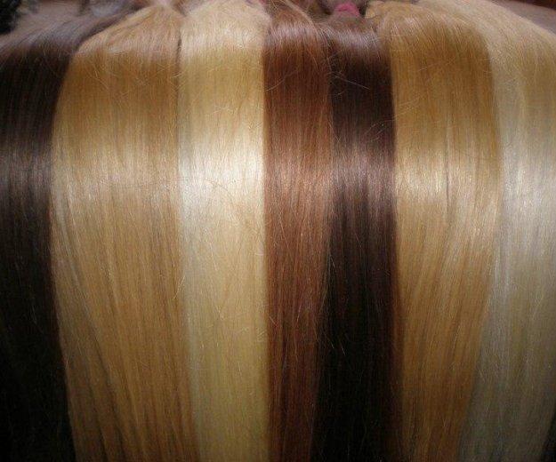 Наращивание русых волос 70 см. Фото 2. Москва.