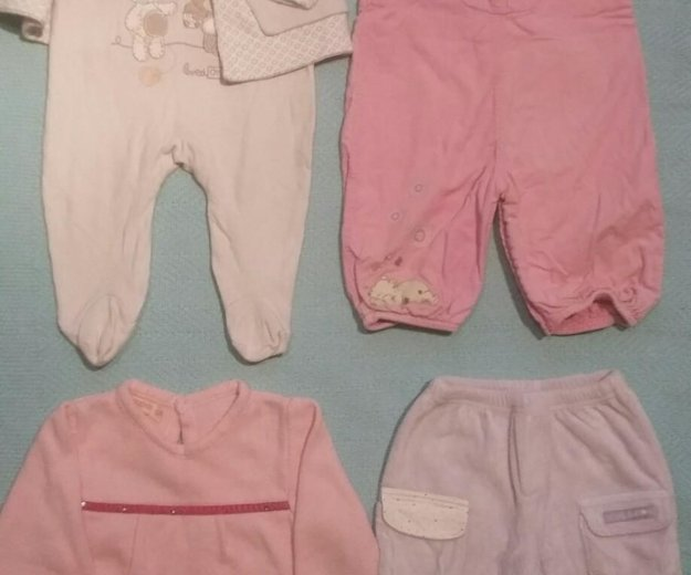 Одежда для девочки 3-6 мес (пакет). Фото 1. Тула.