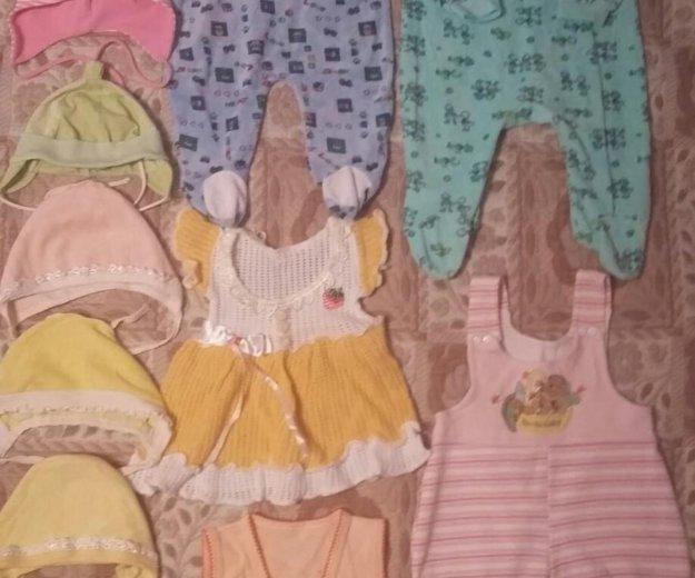 Одежда для девочки 3-6 мес (пакет). Фото 4. Тула.