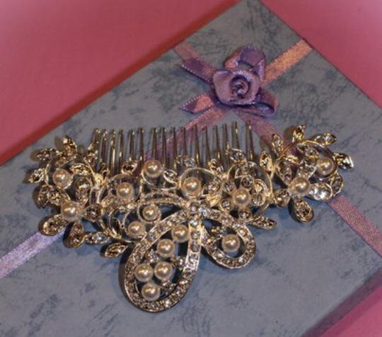 Свадебные гребни в прическу. Фото 3. Санкт-Петербург.
