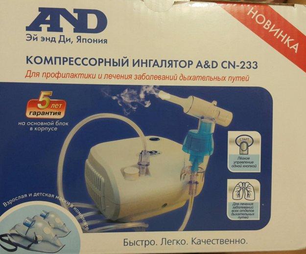 Компрессорный ингалятор (новый). Фото 1. Якутск.