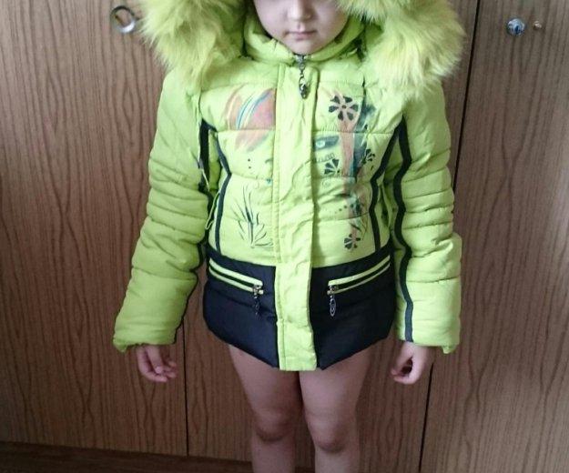 Продам горнолыжную курточку на девочку до 116 см. Фото 1. Сургут.