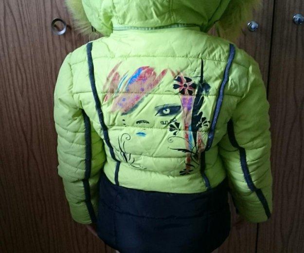 Продам горнолыжную курточку на девочку до 116 см. Фото 2. Сургут.
