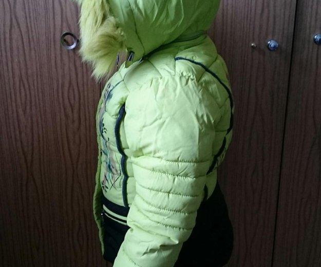 Продам горнолыжную курточку на девочку до 116 см. Фото 3. Сургут.