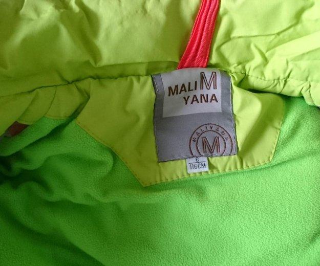 Продам горнолыжную курточку на девочку до 116 см. Фото 4. Сургут.