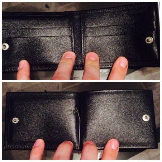 Кажаный кошелёк прищепка. Фото 4. Москва.