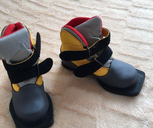 Лыжные ботинки. Фото 1. Гаджиево.