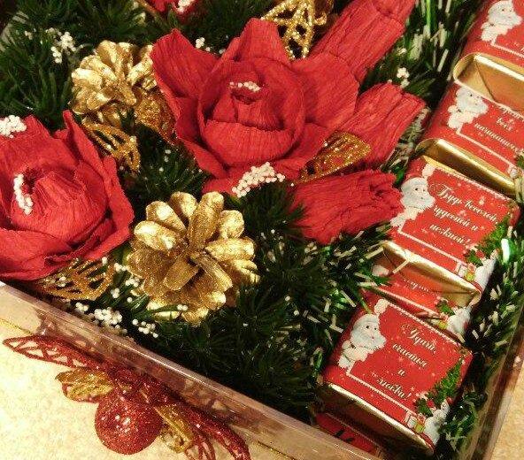 Конфеты. новогодний подарок. подарок на новый год. Фото 2. Самара.