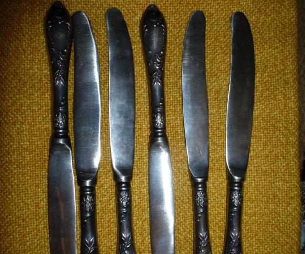 Мельхиоровые столовые и десертные ножи классик зиш. Фото 2. Юбилейный.