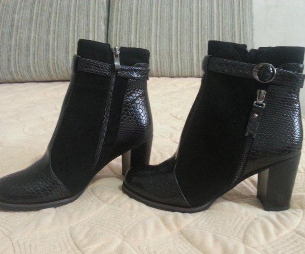 Новые ботиночки 39р. Фото 3. Краснодар.