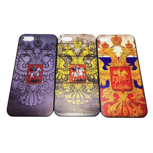 "Чехол ""патриотический"" iphone 5/5s/se. Фото 2. Калининград."