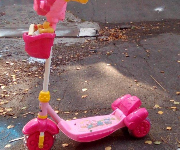 Самокат для девочек. Фото 1. Щёлково.