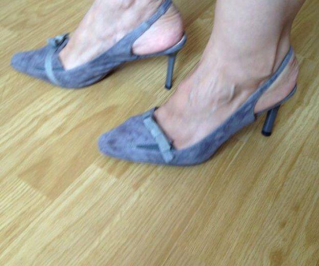 Туфли серые. Фото 1. Красногорск.