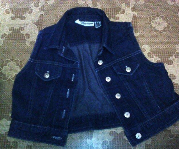 Почти новая джинс. рубашка!. Фото 1. Новосибирск.