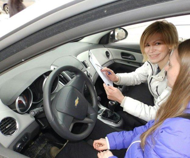 Женщина автоинструктор, инструктор по вождению.. Фото 1. Казань.