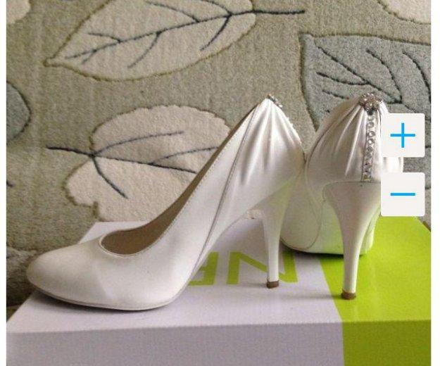 Свадебные туфли. Фото 1. Москва.