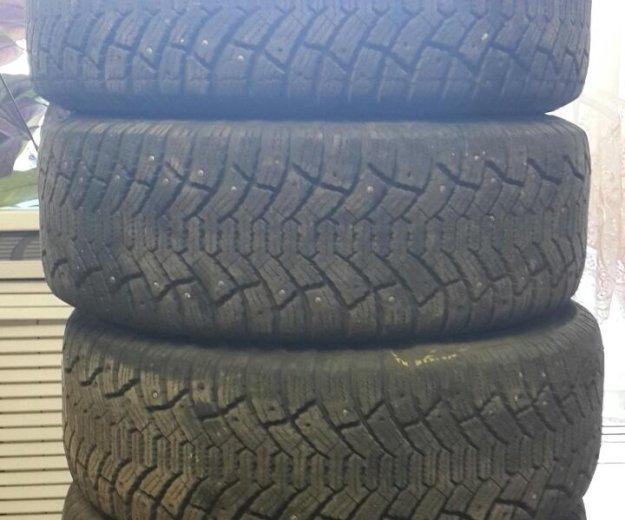 Зимние шины на дискак тойота р 16. Фото 2. Саратов.