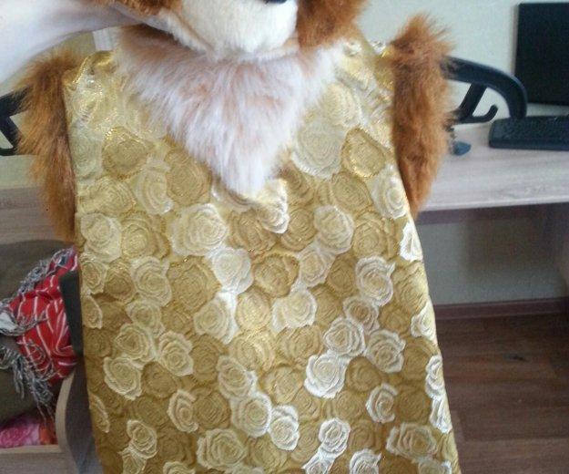 Новогодний костюм белка-стрелка. Фото 1. Знамя Октября.