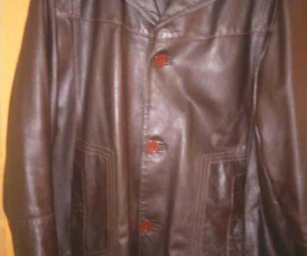 Пиджак кожаный. Фото 1. Уфа.