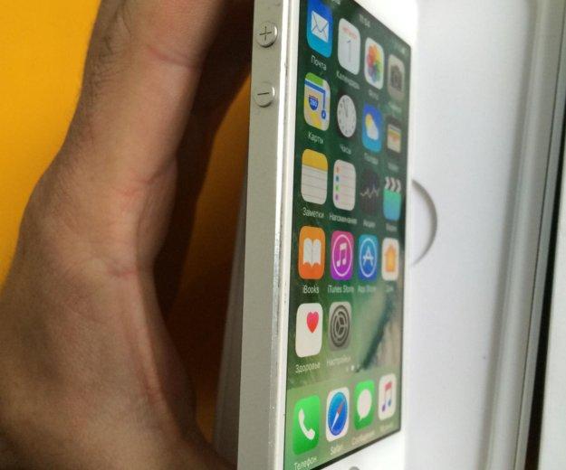 Iphone 5s 32gb lte a1530 silver. Фото 2. Красноярск.