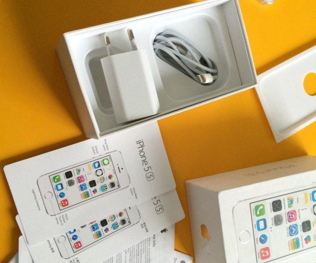 Iphone 5s 32gb lte a1530 silver. Фото 3. Красноярск.