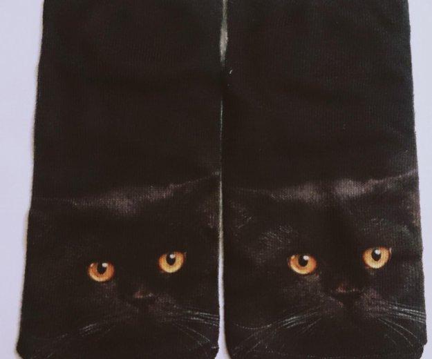 Носки 3d, кот. Фото 1. Москва.