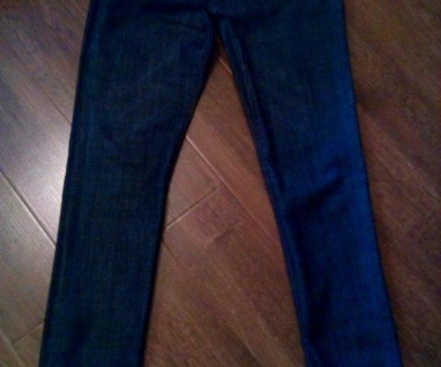 Женские прямые джинсы высокая талия р-р 46. Фото 1. Владимир.