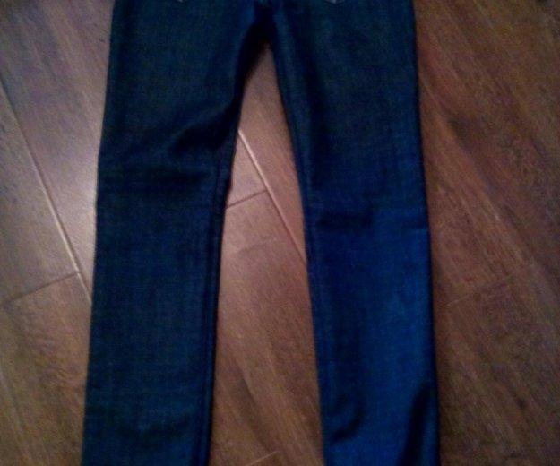 Женские прямые джинсы высокая талия р-р 46. Фото 2. Владимир.