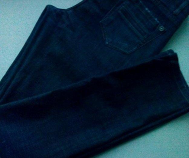Женские прямые джинсы высокая талия р-р 46. Фото 4. Владимир.