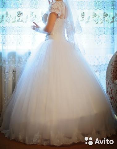 Свадебное платье. Фото 2. Магнитогорск.